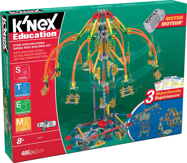 K'NEX Education Stem Explorations - Swing Ride Building Set