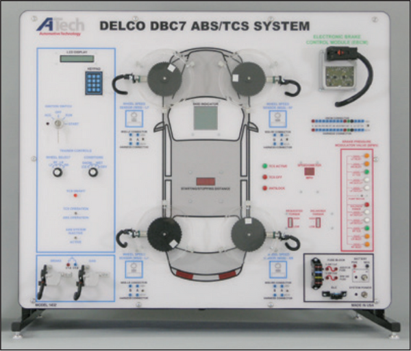 Delco DBC7 ABS/TCS Trainer / Courseware