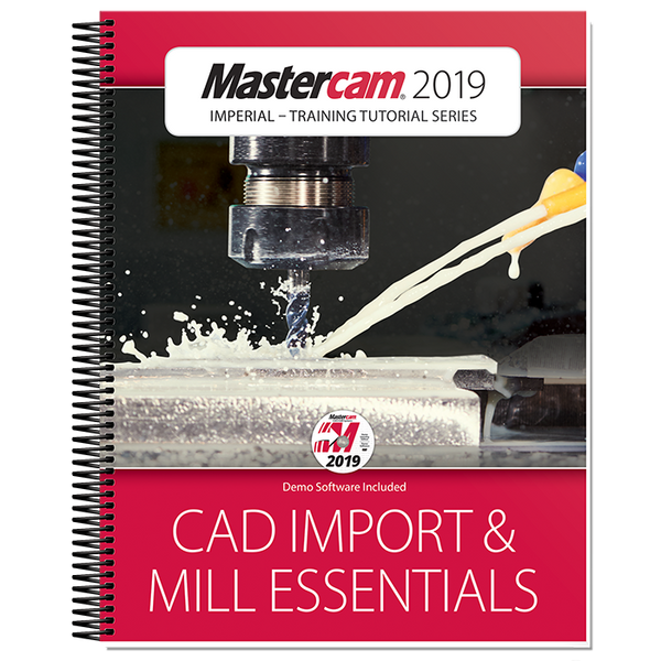 In-House Solutions Mastercam 2019 CAD Import & Mill Essentials Toolpaths Tutorial