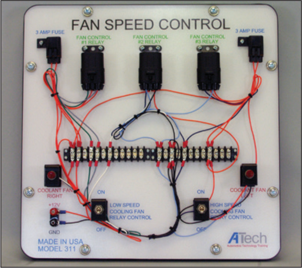 Fan Control Relay Trainer