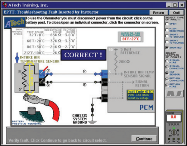 Engine Control System Troubleshooting