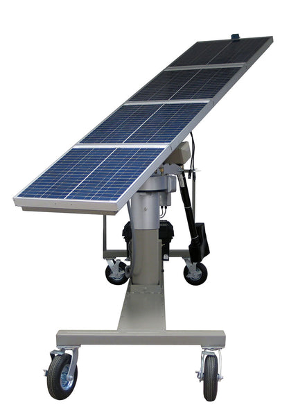 Mobile Solar Array with Solar Tracking Option
