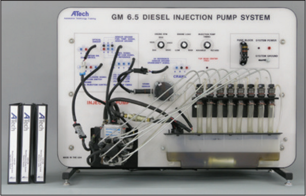 GM 6.5L Diesel Injection Pump System Trainer / Courseware