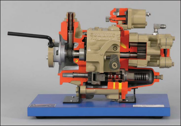 Cummins PT Diesel Injection Pump Cutaway