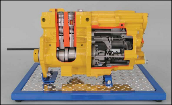 CAT 3304B Diesel Injection Pump Cutaway