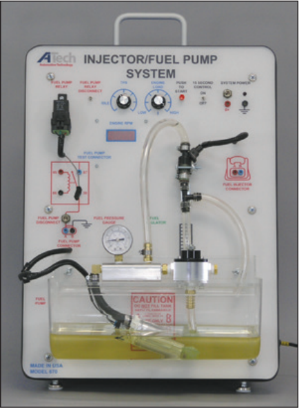 Injector - Fuel Pump System Trainer / Courseware