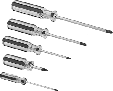 Screw driver set (Phillips)