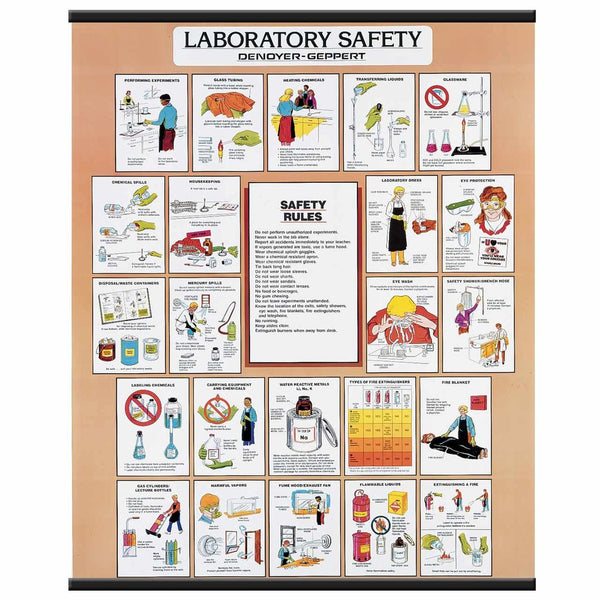 Laboratory Safety Chart for Animal Science