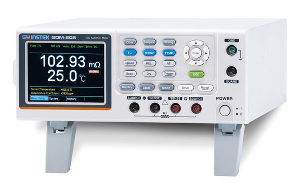 DC Milli-Ohm meter with Handler / RS-232C / USB Device
