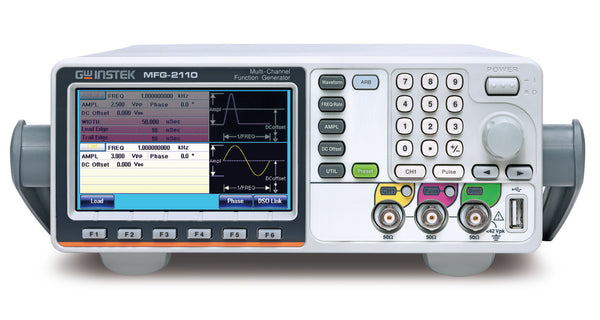 60MHz Single Channel Arbitrary Function Generator with pulse generator, modulation, 320MHz RF signal generator