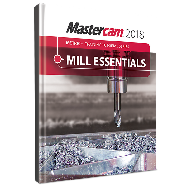 In-House Solutions Mastercam 2018 Mill Essentials Training Tutorial (METRIC)