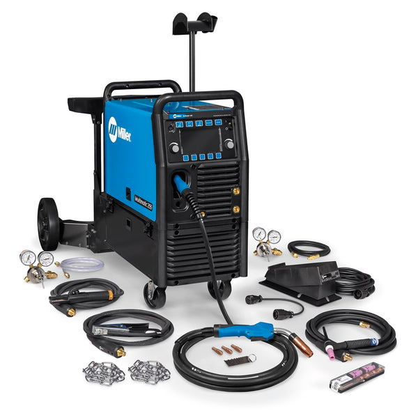 Multimatic® 255 Multiprocess Welder w/ EZ-Latch™ Dual Cylinder Running Gear & TIG Kit - 208-575V - 951768