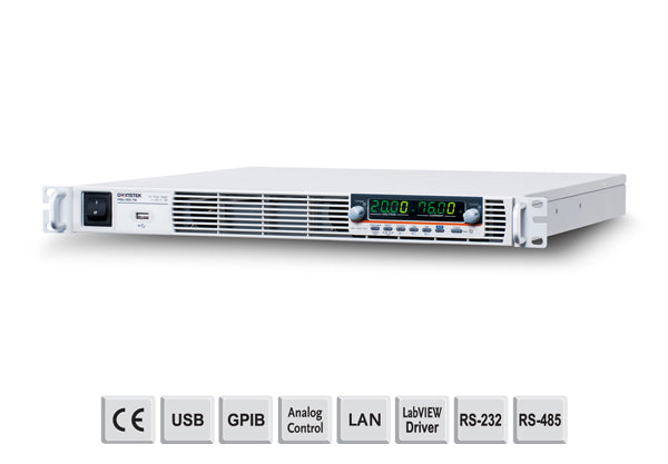 Programmable 100VDC - 15A, 1U high, 1500W