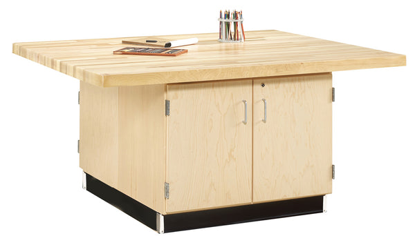 4-Station Workbench without Vises