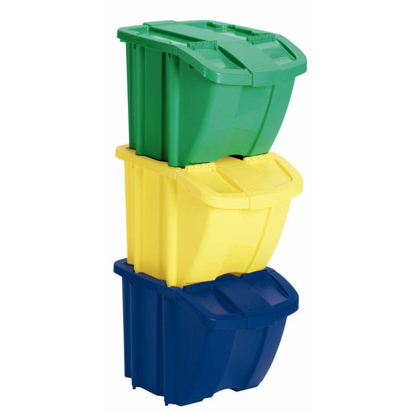 Storage Bin w/Lid CASE OF 3