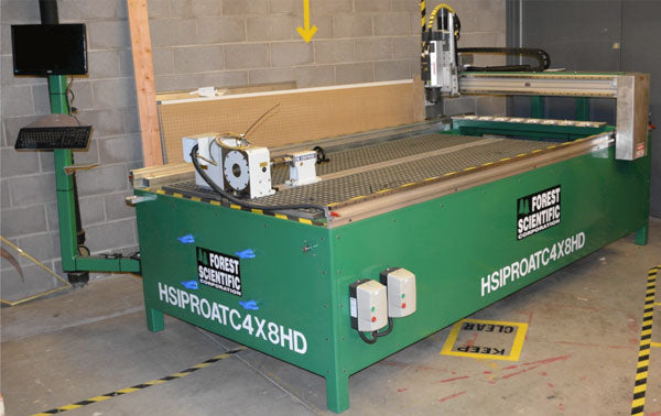 HIPRO HEAVY DUTY CNC 4x8 ROUTER
