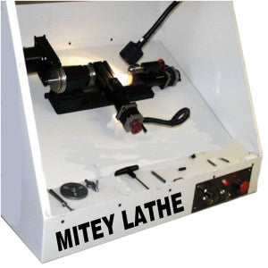Mitey Lathe Stepper Ball Screw version