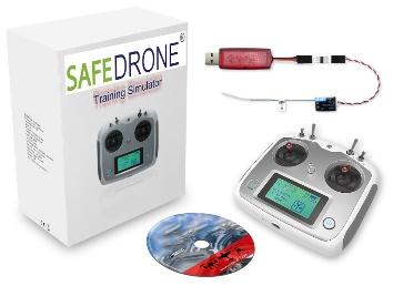 STEMPilot SAFEDrone Simulator Software and Wireless Controller