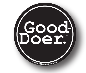 Good-Doer Button