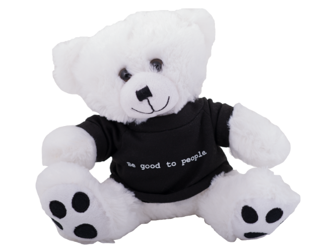 Be Good to People Classic Tee Bear