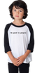 Be Good to People Classic Baseball Tee Youth
