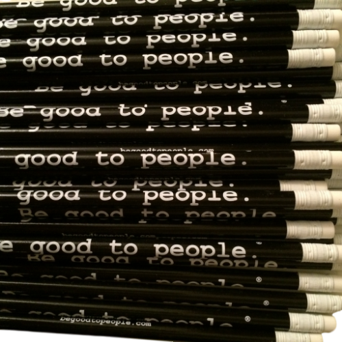 Be Good to People Classic Graphite Pencil