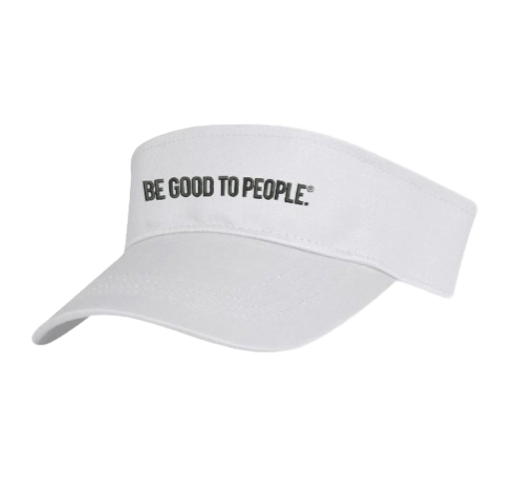 Be Good to People Legacy Visor