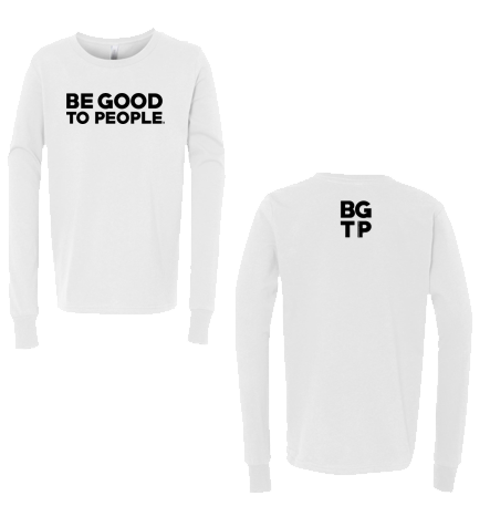 Be Good to People Legacy Youth Long Sleeve Tee