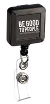 Legacy Badge Reel with Be Good to People logo