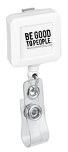 White Legacy Badge Reel front view
