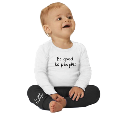 Be Good to People Signature Cozy Kid Pjs