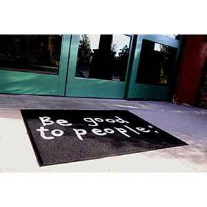 Signature In+Out Entry Mat