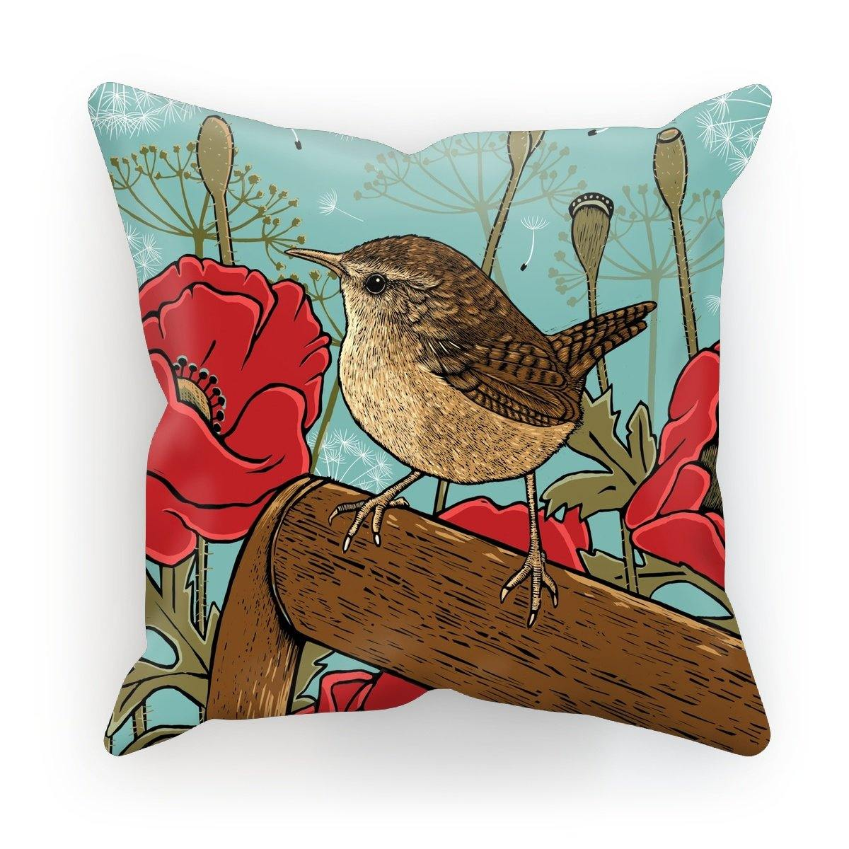 Wren Cushion by Fox & Boo