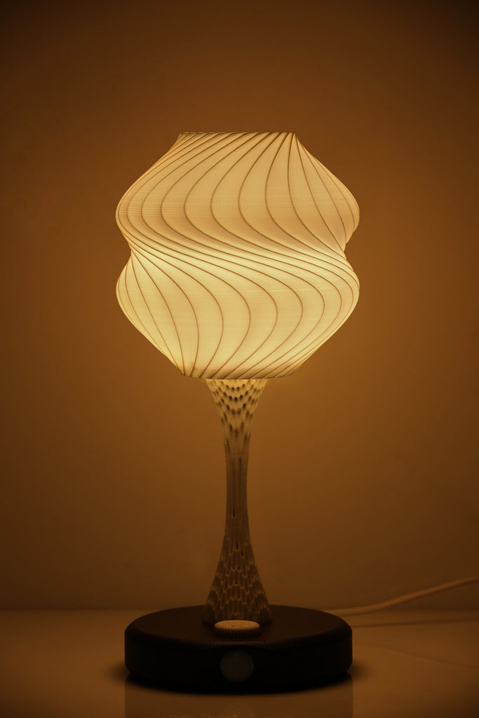 Vexma Psyche- Ambient Light Sensing (Brown) Table Lamp - vexmatech