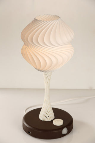 Vexma Psyche- Ambient Light Sensing (Brown) Table Lamp