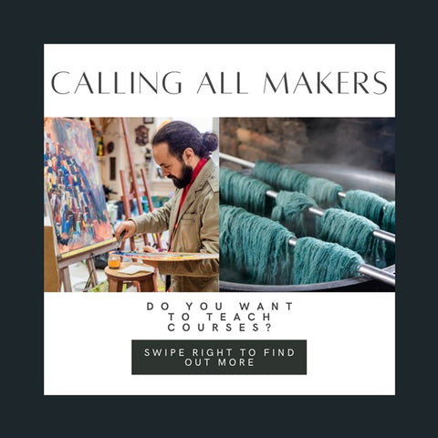 calling all makers