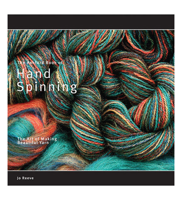 Ashford Book of Hand Spinning-Ashford-Freya Jones Art and Craft