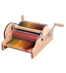 Ashford Wide Drum Carder-hand carders-Ashford-Freya Jones Spinning and Fibre Craft