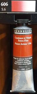 Cadmium Red Deep 606-Sennelier-Freya Jones Art and Craft