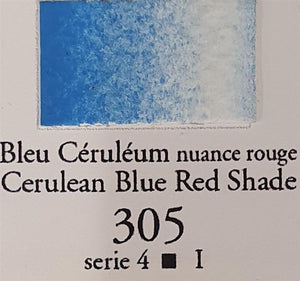 Cerulean Blue Red Shade 305 10ml Tube-Sennelier-Freya Jones Art and Craft