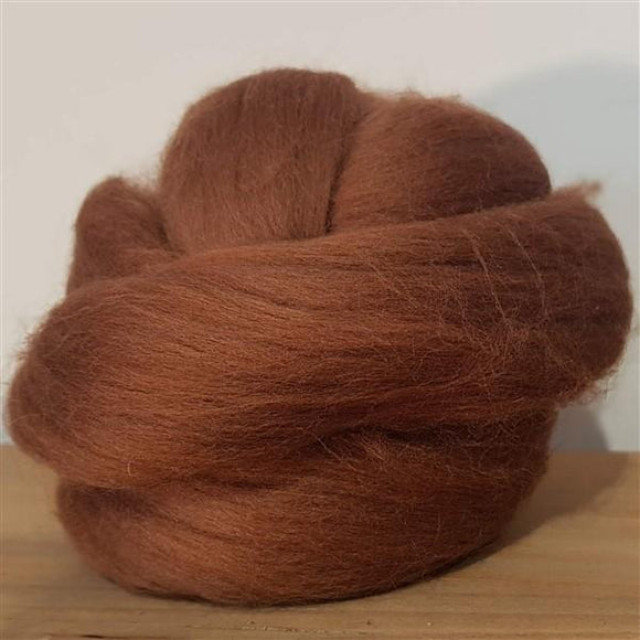 Chocolate 100% Merino-Fibres-Freya Jones-Freya Jones Spinning and Fibre Craft