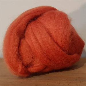 Cinnamon 100% Merino-Fibres-Freya Jones-Freya Jones Spinning and Fibre Craft