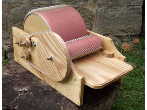 Classic Carder Jumbo-drum carder-classic carder-Freya Jones Spinning and Fibre Craft