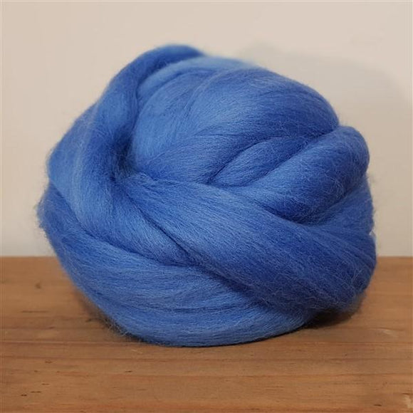 Cornflower 100% Merino-Fibres-Freya Jones-Freya Jones Spinning and Fibre Craft