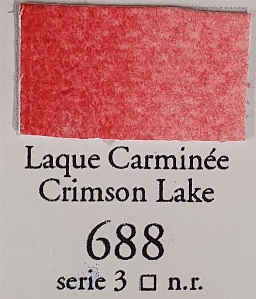 Crimson Lake 688 10ml Tube-Watercolour-Sennelier-Freya Jones Spinning and Fibre Craft