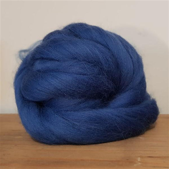 Denim 100% Merino-Fibres-Freya Jones-Freya Jones Spinning and Fibre Craft