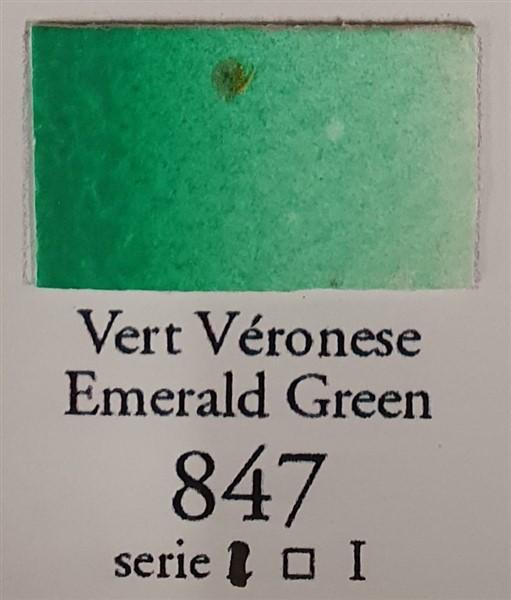 Emerald Green 847 10ml Tube-Sennelier-Freya Jones Art and Craft
