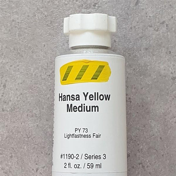 Hansa Yellow Medium Heavy Body-Golden-Freya Jones Art and Craft