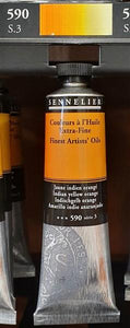 Indian Yellow Orange 590-Sennelier-Freya Jones Art and Craft