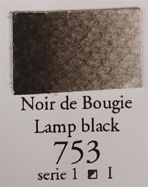Lamp Black 753 10ml Tube-Sennelier-Freya Jones Art and Craft